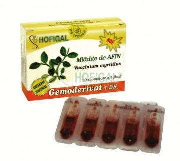 Gemoderivat Mladite De Afin 30 monodoze 1.5 ml